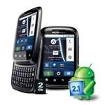 Celular Desbloqueado Claro Motorola XT300 SPICE™ Preto C/ Câmera 3.2MP, Android 2.1, Qwerty, MP3, FM, 3G, GPS, Wi-Fi, Bluetooth, Fone e Cartão 2GB