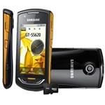 Celular Desbloqueado Samsung S5620 Star 3G Touch C/ Câmera 3.2MP, GPS, MP3 Player, Rádio FM, Wireless, Bluetooth e Cartão 2GB