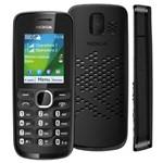 Celular Desbloqueado Tim Nokia 110 Preto com Dual Chip, Câmera VGA, Bluetooth e Rádio FM