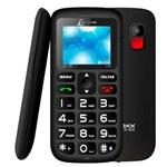 """Ficha técnica e caractérísticas do produto Celular Lenoxx CX 906 Preto com Tela 1.8"""", Dual Chip, Câmera VGA, Bluetooth e Rádio FM"""