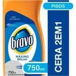 Ficha técnica e caractérísticas do produto Cera Bravo Flash Incolor 750ml