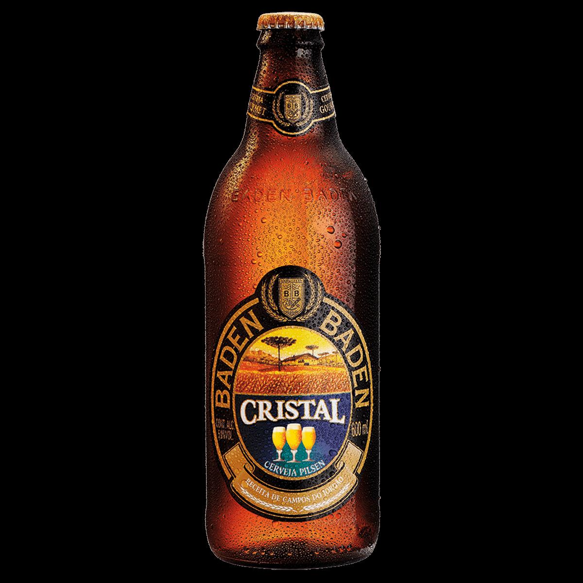 Ficha técnica e caractérísticas do produto Cerveja Baden Cristal 600ml
