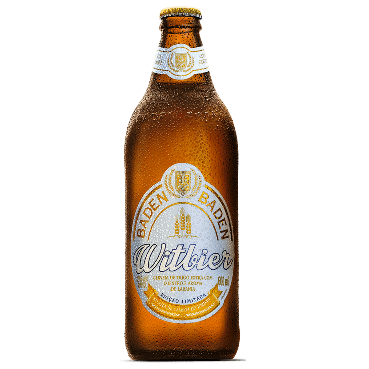 Ficha técnica e caractérísticas do produto Cerveja Baden Witbier 600ml