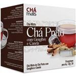 Chá Preto/gengibre/canela 10env 12g Chá Mais