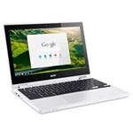 Ficha técnica e caractérísticas do produto Chromebook Acer CB5-132T-C9F1, Intel Celeron N3150, Tela, 11,6``, Memória 4GB, 32eMMC, Chrome OS - Branco