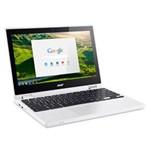 Ficha técnica e caractérísticas do produto Chromebook Acer CB5-132T-C32M Intel Celeron Quad Core 2GB 32 EMMC