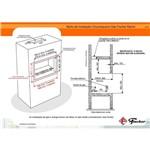 Ficha técnica e caractérísticas do produto Churrasqueira a Gás Fischer Ranch 3 Espetos Gn 18122-19402 - 220v