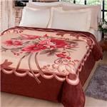 Cobertor Casal Soft Fiore Estampado - Kyor Plus