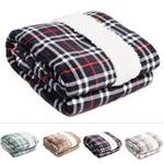 Cobertor / Manta de Microfibra Queen Escócia 100% Poliéster - Corttex