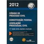 Ficha técnica e caractérísticas do produto Código de Processo Civil - 2012