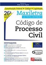 Ficha técnica e caractérísticas do produto Código de Processo Civil Maxiletra