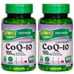 Ficha técnica e caractérísticas do produto Coenzima Q10-2 Unidades de 60 Cápsulas - Unilife