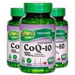 Ficha técnica e caractérísticas do produto Coenzima Q10-3 Unidades de 60 Cápsulas - Unilife