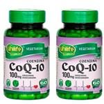 Ficha técnica e caractérísticas do produto Coenzima Q10 - 2x 60 Cápsulas - Unilife