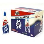 Ficha técnica e caractérísticas do produto Cola Branca Lavável 110g Tenaz Cx 12 Unidades Pritt