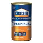 Ficha técnica e caractérísticas do produto Cola Contato Tradicional Cascola Sem Toluol 400g
