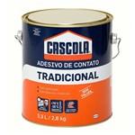 Ficha técnica e caractérísticas do produto Cola Contato Tradicional Sem Toluol 2,8 Kg Cascola - Henkel