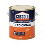Ficha técnica e caractérísticas do produto Cola de Contato 2,8kg Cascola