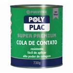 Ficha técnica e caractérísticas do produto Cola de Contato Polyplac Pulvitec 730g Pulvitec