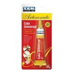 Cola Instantânea Super Cola Universal Artesanato 17g Tekbond