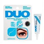 Ficha técnica e caractérísticas do produto Cola para Cílios Duo Branca Transparente Eyelash Adhesive Clear-white