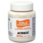 Ficha técnica e caractérísticas do produto Cola Permanente Acrilex 250 Gr