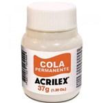 Ficha técnica e caractérísticas do produto Cola Permanente Acrilex 37gr C/12