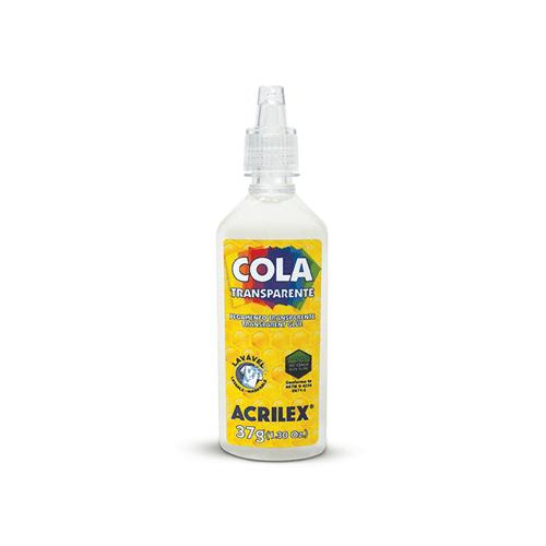 Ficha técnica e caractérísticas do produto Cola Transparente 37Grs (Acrilex)