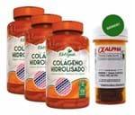 Ficha técnica e caractérísticas do produto Colágeno Hidrolisado e Vitamina C 500Mg 3X120 Cáps + Brinde (Natural)