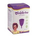 Ficha técnica e caractérísticas do produto Coletor Menstrual Violeta Cup - Violeta Tipo a