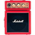 Ficha técnica e caractérísticas do produto Combo para Guitarra Vermelho MS-2R - Marshall
