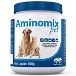 Ficha técnica e caractérísticas do produto Complexo Mineral Aminomix Pet 500g Vetnil