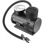 Ficha técnica e caractérísticas do produto Compressor de AR 12V AU601 Preto Multilaser