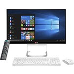 "Computador All In One LG 24V550-BJ31P1 Intel Core I5 4GB 500GB LED 23,8"" Windows 10 - Branco"