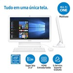 "Computador All In One Samsung E1 com Intel Dual Core 4GB 500GB LED 21.5"" - Windows 10"