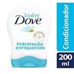Condicionador Dove Baby Hidratacao Enriquecida 200ml