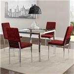 Ficha técnica e caractérísticas do produto Conjunto de Mesa 0326 e 4 Cadeiras 0399 - Carraro 326399.4 3263994