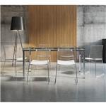 Ficha técnica e caractérísticas do produto Conjunto de Mesa 0328 e 6 Cadeiras 1712 - Carraro 3281712.6.VI 32817126VI