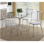 Ficha técnica e caractérísticas do produto Conjunto de Mesa 0393 e 4 Cadeiras 0154 - Carraro 393154.4 3931544