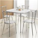 Ficha técnica e caractérísticas do produto Conjunto de Mesa 1510 e 4 Cadeiras 0154 - Carraro 1510154.4 15101544