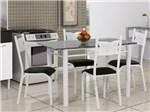 Conjunto de Mesa com 4 Cadeiras Ciplafe - Poeme