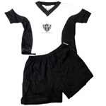 Conjunto M/M Camiseta C/ Recorte Atlético Mineiro - Torcida Baby
