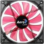 Ficha técnica e caractérísticas do produto Cooler FAN 14CM RED LED Vermelho Aerocool