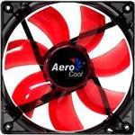 Ficha técnica e caractérísticas do produto Cooler Fan Lightning 12cm Vermelho RED LED Aerocool