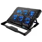 Cooler Multilaser AC282 C/ 6 Fans Led para Notebook