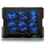 Ficha técnica e caractérísticas do produto Cooler para Notebook 6 Fans em Led Azul AC282 - Multilaser