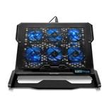 """Ficha técnica e caractérísticas do produto Cooler para Notebook Multilaser Hexa Cooler Até 17"""" - AC282"""