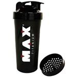 Ficha técnica e caractérísticas do produto Coqueteleira Shaker - Preto - 600 Ml - Max Titanium