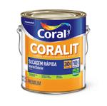 Ficha técnica e caractérísticas do produto Coral Coralit Secagem Rápida Zero Odor Acetinado 3,6 Litros Branco