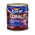 Ficha técnica e caractérísticas do produto Coral Coralit Ultra Resistência Acetinado 3,6 Litros Branco